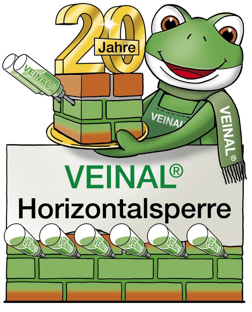 Veinal Frosch 20 Jahre Horizontalsperre