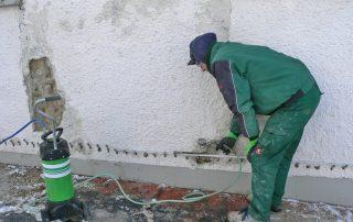 Mauertrocknung mit VEINAL